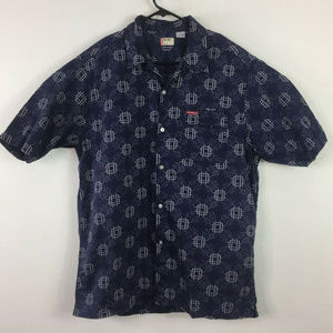 Levi's Red Tab Short Sleeve Button Up Shirt Size L